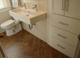 Peel N Stick Tile Floor by Diy Herringbone Peel N Stick Tile Floor Before And After By Grace