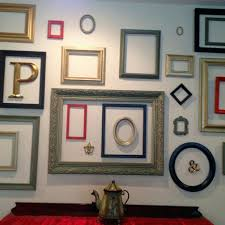 Wall Decor Art Frames Picture Frame Ideas Exceptional Use Empty To Decorate Home