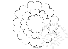 Printable Flower Petal Template