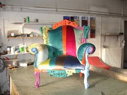 tapissier siege fauteuil de style patchwork tapissier moderne jplecomte tapisserie