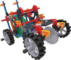100 Demolition Truck Knex Imagine 4WD Building Set