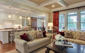sophisticated farmhouse traditional living room raleigh by