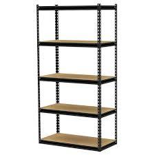 Exciting Metal Shelving Home Depot Delightful Decoration Gorilla Rack 5 Shelf Freestanding Storage Unit