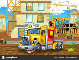 100 Heavy Truck Games Construction Site With Heavy Truck Stock Photo Illustrator_hft