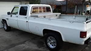 100 1984 Chevy Truck For Sale Crew Cab California Patina Shop Hauler Ready For