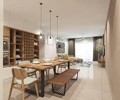 100 Modern Zen Living Room Dining Condominium Design Ideas Photos