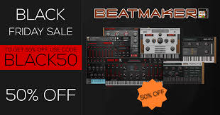 50 Off On Black Friday by Kvr Kvrdeal Beatmaker Black Friday Cyber Monday Sale 2017 50