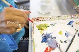 Painters Pallet Royalty Free Stock Photo