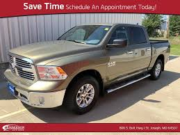 Used 2015 Ram 1500 For Sale | Anderson Kia, Mitsubishi Of St. Joseph ... Used Trucks For Sale Salt Lake City Provo Ut Watts Automotive 2016 Ram 1500 For Anderson Preowned Outlet Atchison 2014 Pickup 2500 Big Horn Sale In Alburque Nm New 2017 Ram Crew Cab S880374 Columbia What Is The Point Of Owning A Pickup Truck Sedans Brake Race Car The Bighorn Now Ewald Group Truck Sales Trump Infrastructure Plans Have Dealers Thking 2019 Tiffin Oh 136285 1972 Chevrolet C10 Rk Motors Classic Cars Semi Trucks Lifted 4x4 Usa Ford Fseries Marks 40 Years As Usas Bestselling Fox News Top 10 Most Expensive World Drive