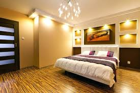 Gold Wall Paint Bedroom This Stylishly Modern Uses A Fairly Unorthodox Color Combination The Shimmering Is Highlight Of Room