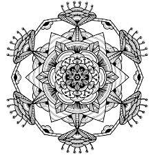 Coloriage Mandala Illuminati A Co