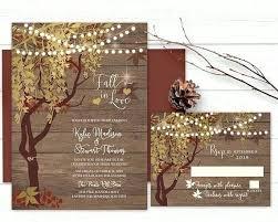 Awesome Rustic Tree Wedding Invitations And Like This Item 86 Oak Invitation