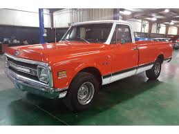 100 Truck For Sale In Texas 1969 Chevrolet C10 For ClassicCarscom CC1035075