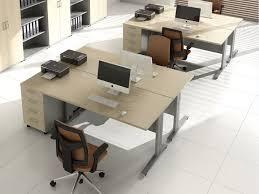 bureau 2 personnes bench 2 personnes evolis avec caisson