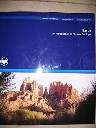 9781269137782 Earth An Introduction To Physical Geology Second Custom Edition For Rio Salado