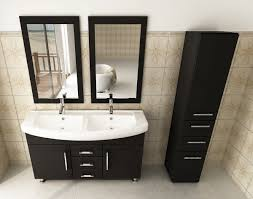 48 Inch Double Sink Vanity Canada by Avola 48 Inch Double Sink Bathroom Vanity Espresso Finish