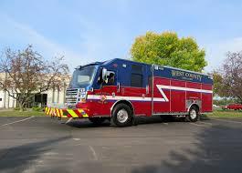 100 Blue Fire Trucks 14289 West County EMS