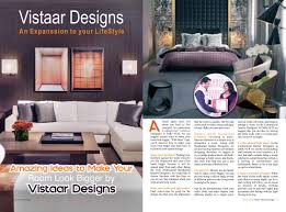 100 Residential Interior Design Magazine Published Articles Vistaar S
