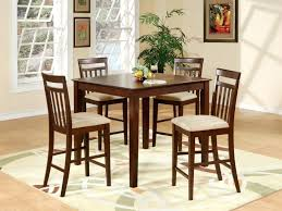 Modern Dining Room Sets Amazon by Dining Rooms Splendid Bar Height Dining Set With Leaf High