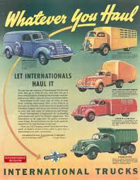 Old International Ads From The D Line • Old International Truck Parts
