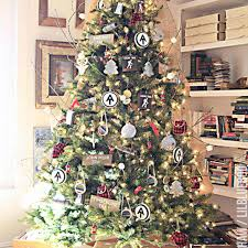 Guojia 2ft Desktop Christmas Tree Suit DIY PreLit Tabletop Artifical Christmas Tree Decoration For KidsSuitable For Evening Party Office Hotel