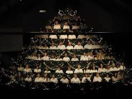 The Singing Christmas Tree At Ridgefield Church Of Nazarene In Washington