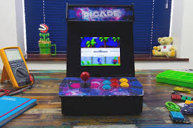 Mini Arcade Cabinet Kit Uk by Picade Pimoroni