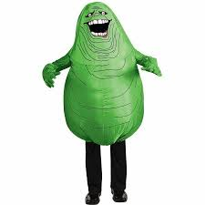Walmart Canada Halloween Inflatables by Ghostbusters Inflatable Slimer Child Halloween Costume Walmart Com