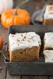 Cake Mix Pumpkin Bread by Pumpkin Cake With Butter Pecan Frosting The First Year