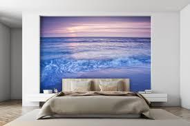 fototapete romantisch strand sonnenuntergang fototapeten tapete wandbild meer romantisch wellen m0895
