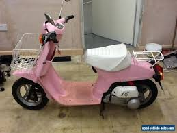 VINTAGE HONDA MELODY 50cc Pink Scooter For Sale