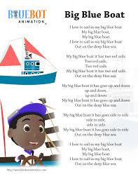 Big Blue Boat Nursery Rhyme Lyrics Free Printable Nursery Rhyme ... Rhyme With Truck Farm English Rhymes Dictionary Book Of By Romane Armand Kickstarter Driver Rhyming Words Cat Cop Shirt Fox Dog Car Skirt Top Box Fog Bat Jar 36 Best Acvities For Kids Images On Pinterest Short U Alphabet At Enchantedlearningcom A Poem Of Hunting Fishing And Truck Glaedr The Poet Best 25 Free Rhymes Ideas Words Printable Literacy Puzzles Look Were Learning Abc Firetruck Song Children Fire Lullaby Nursery Calamo Sounds Worksheet Picture Books That