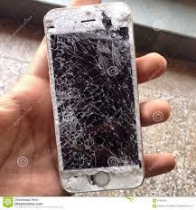 Broken iPhone 5s editorial photo Image of iphone apple