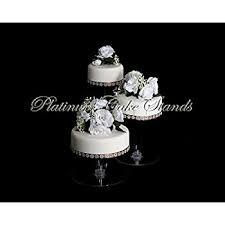 Fresh 3 Tier Wedding Cake Stand Unbelievable Amazon Com Acrylic STYLE R300