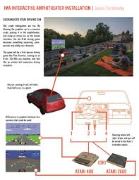 Halloween Atari 2600 Reproduction by How To Turn Your Whole Car Into A Game Simulator