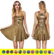 Plus Size Summer Mermaid Dress For Women Dresses High Waist