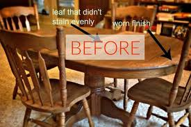 Old Wood Dining Room Table by 9 Dining Room Table Makeovers We Can U0027t Stop Looking At Hometalk