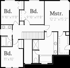 The Two Story Bedroom House Plans by Traditional House Plans Two Story House Plans 4 Bedroom House