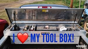 Tool Time Tuesday -Pickup Truck Tool Box - Prepared For An Emergency ... Pickup Tool Boxes Increase Organization Adrian Steel Master Big Rig Truck Box Hauler Tools Tool Tools Aerobox Rear Mounted Cargo Dlock Racks Jones Mfg System One Full Access Alinum 2 Ladder Replace Your Chevy Ford Dodge Truck Bed With A Gigantic Tool Box Tray Accsories Gt Fabrication Shop Durable Bed Storage And Hitches Fantom Fuel Drawer Drawers Storage Ideas 72 Mobmasker