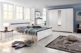 southton schlafzimmer set 6 teilig kiefer massiv weiss lasiert braun günstig möbel küchen büromöbel kaufen froschkönig24