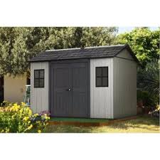 Keter Manor Shed Grey by Plastic Sheds You U0027ll Love Wayfair