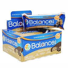 Balance Bar Cookie Dough Nutrition 176 Oz Bars