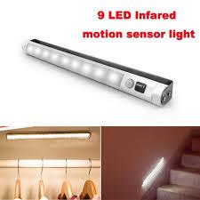 vibelite motion sensor 9 led light bar battery operated surface
