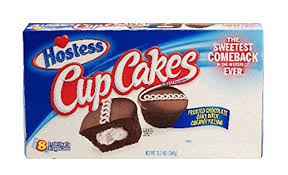 Hostess Chocolate Cupcakes 360 G Pack Of 8 Amazoncouk Grocery