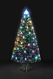 6ft fibre optic christmas trees rainforest islands ferry