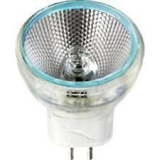mr8 6v 5w fl gz4 base halogen light bulb no cover fast