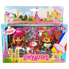 Amazoncom PinyPon Travel Around The World PARIS France 2 Doll