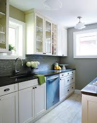 Small Single Wall Kitchen Layout