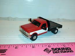 100 Toy Ford Trucks 164 CUSTOM Farm Toy F250 1990 Diesel Flatbed TRUCK ERTL Farm