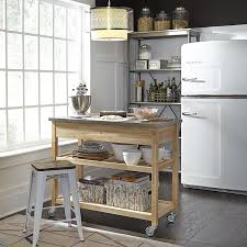 Amazon.com: Home Styles Natural Designer Utility Cart With ... Best Of Metal Kitchen Island Cart Taste Amazoncom Choice Products Natural Wood Mobile Designer Utility With Stainless Steel Carts Islands Tables The Home Depot Styles Crteacart 4 Door 920010xx Hcom 45 Trolley Island Design Beautiful Eastfield With Top Cottage Pinterest
